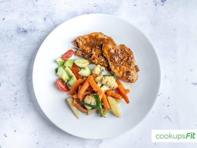 Thai Chicken - Low Fat/Low Calorie - CookupsFit Healthy Meals