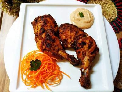 Tanduri Chicken With Naan