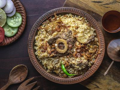 Karachi Beef Biriyani
