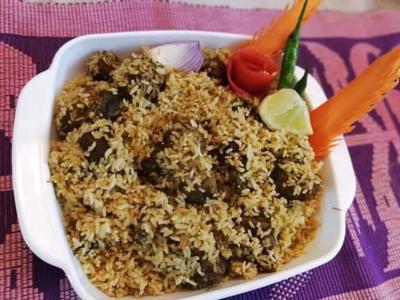 Beef Tehari with Mustard Oil