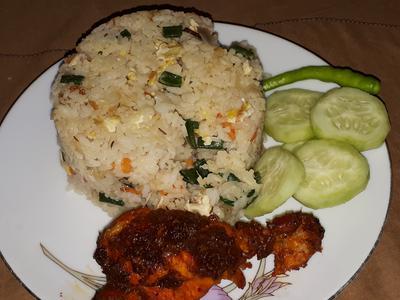 Chicken Tandoori Fried Rice