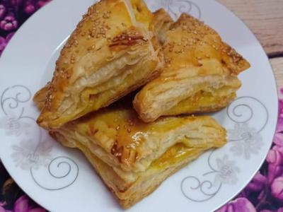 Frozen Puff Pastry Sheets (10 Pieces)