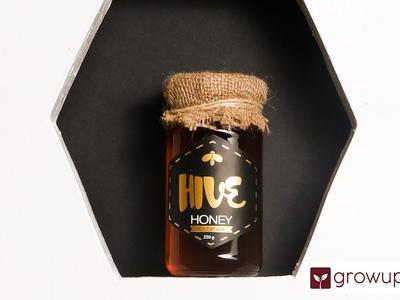 Mustard/Lychee flower honey: Hive Honey: - Growups Grocers