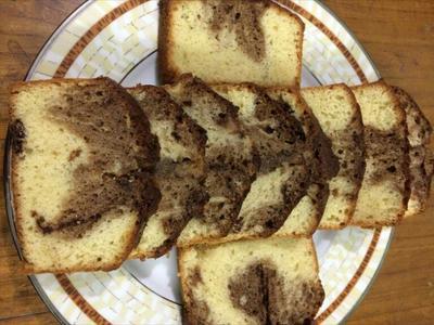 Chocolate Marble Cake (1 Pound)